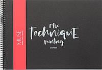 "Альбом для малюв. на пруж.20/120 А4""Muse""Mix Technique black №PB-SC-020-305/Школярик/(36)"