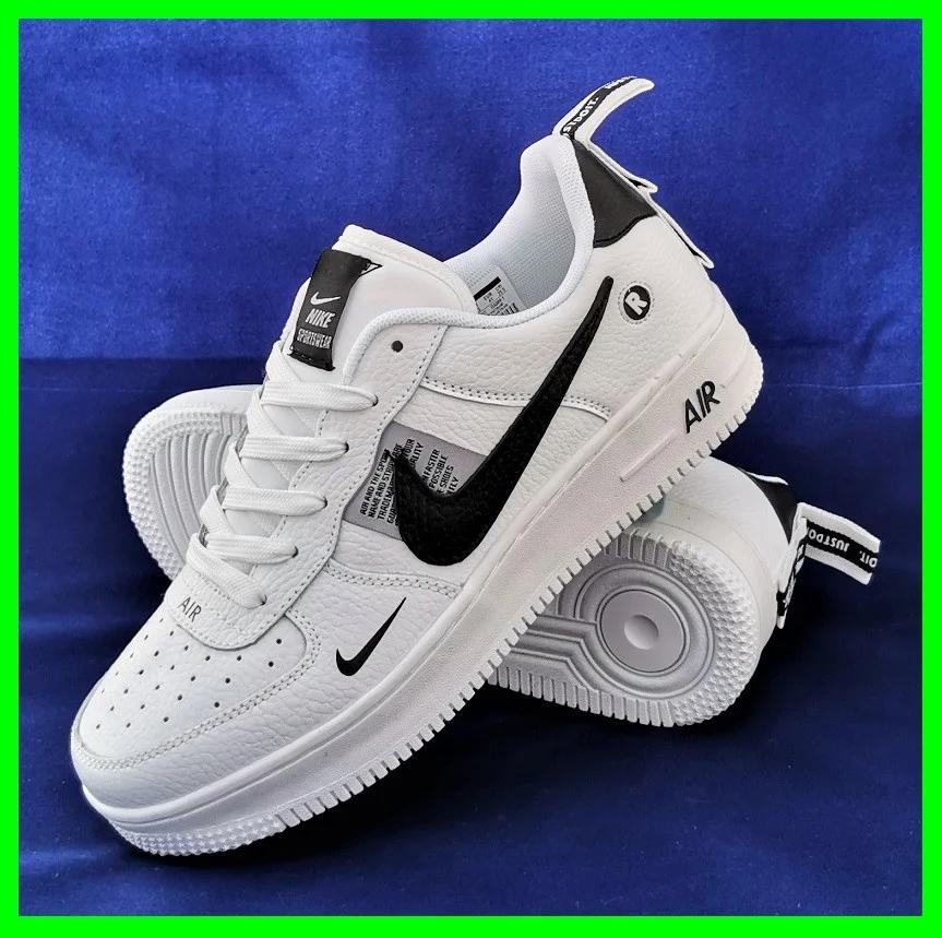 Кроссовки женские белые в стиле Nike Air Force. Кроссовки женские из эко кожи. Кеды женские. Мокасины женские