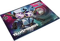 """Альбом для малюв. на скобі 12/120 А4 """"Kite"""" УФ-лак Transformers №TF17-241(20), фото 1"""