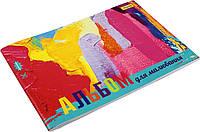 """Альбом для малюв. на скобі 28/120 А4 """"1В"""" з перфор. (для дівчаток) №130252(8)(96)(208), фото 1"""