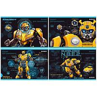 """Зошит для малюв. на скобі 12/100 A4 """"Transformers"""" №TF19-241/Kite/(20)(200)"""