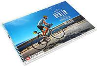 Альбом для малюв. на пруж. 30/120 А4 картон №PB-SC-030-101/Школярик/(9)(63), фото 1