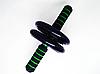 Ролик для Пресса-Фитнес-Колесо-Гимнастический Снаряд DOUBLE WHEEL 145 мм с ручками, фото 3