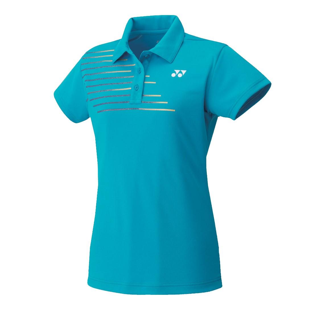 Женская футболка Yonex 20302 Women`s Polo Shirt Water Blue