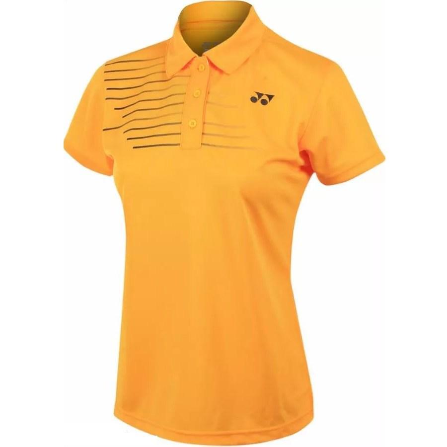 Жіноча футболка Yonex 20302 women's Polo Shirt Corn Yellow
