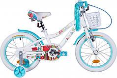 """Велосипед 16"""" Formula CREAM 2020 (бело-аквамариновый)"""
