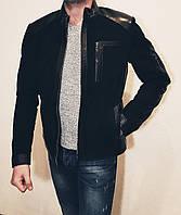Весенняя замшевая куртка мужская Maddox