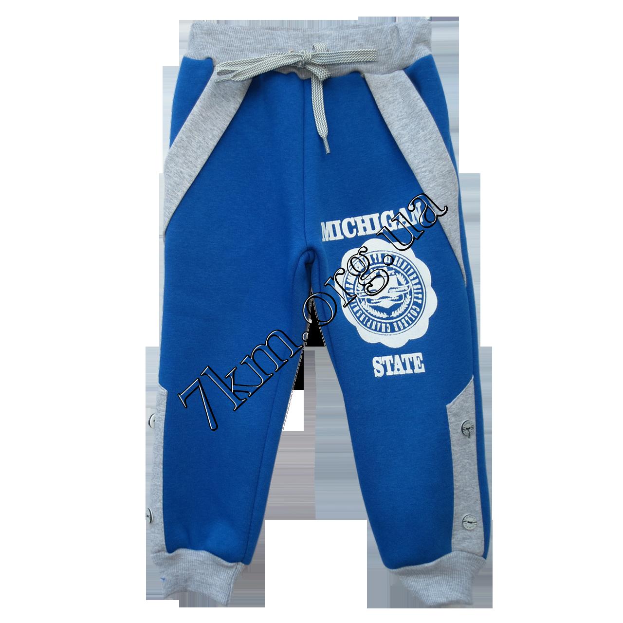 Спортивные штаны MICHIGAN для мальчиков (2-5лет) Электрик
