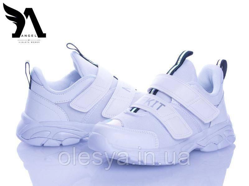 Подростковые модные кроссовки Violeta 200-144  Размеры 32 34 ХИТ продаж!