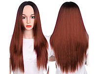 Парик из искусственных волос Sunshine 66 см Русый