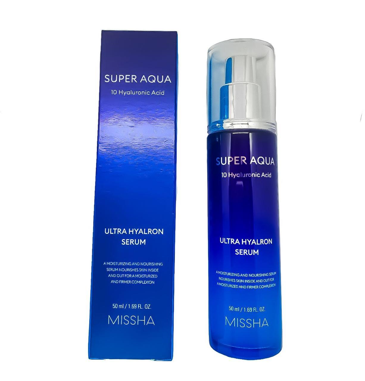 Сыворотка увлажняющая MISSHA Super Aqua Ultra Hyalron serum