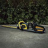 Мощный аккумуляторный бесщёточный триммер Poulan Pro 58 V PRHT22i (кусторез ), фото 5