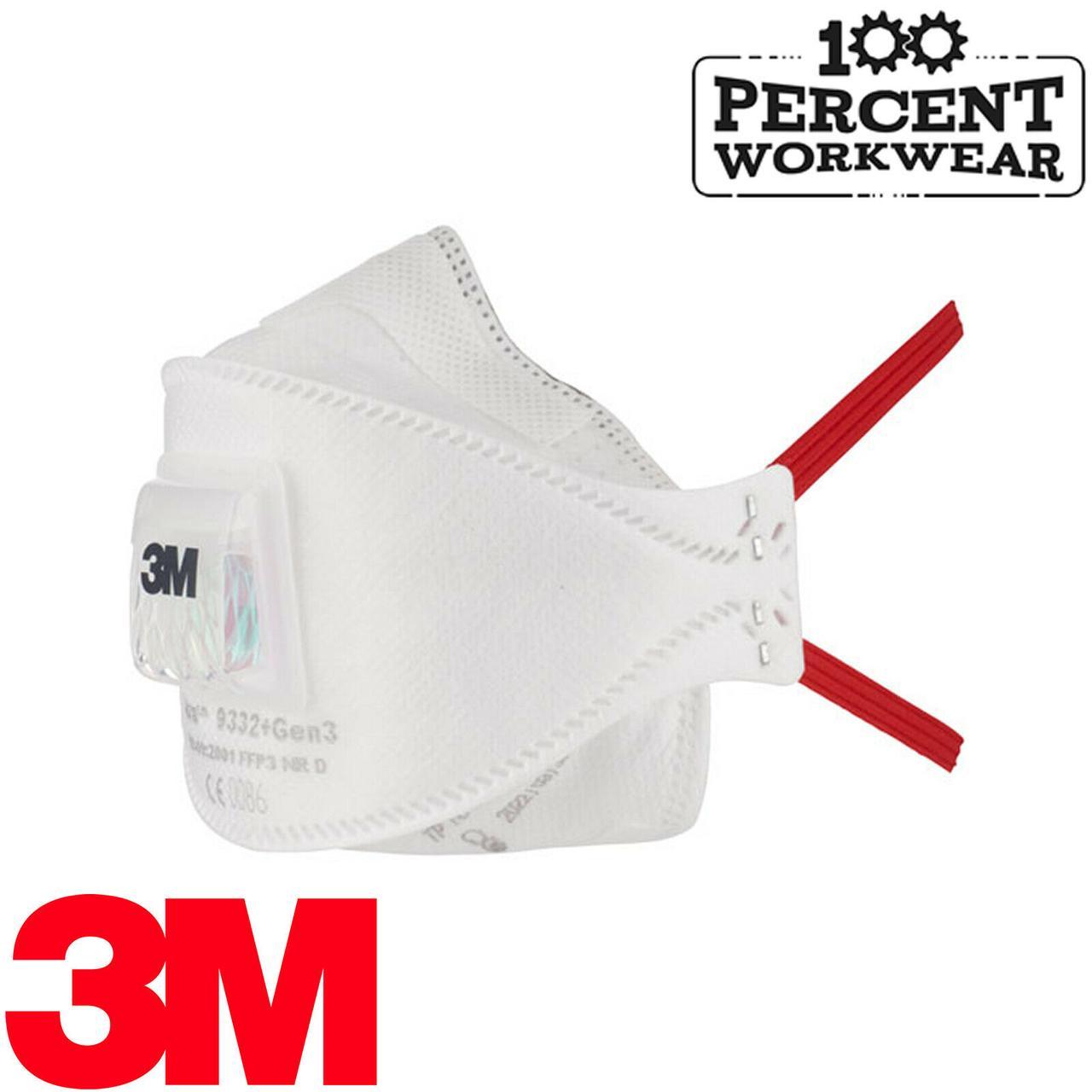 Респиратор защитная маска Респиратор 3M 9332 FFP3