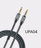Кабель Hoco UPA04 Noble sound series AUX audio (with mic) 1М