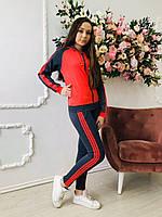 Спортивный костюм для девочек в школу Эластик 714 Zeta-m