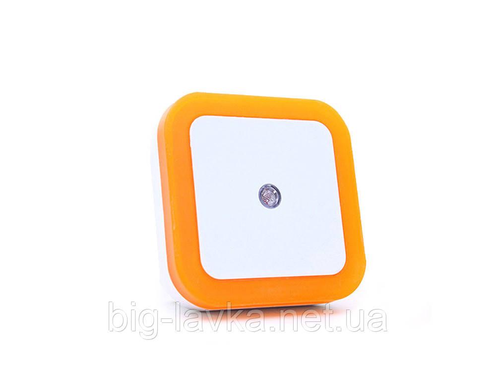 Светильник ночник с датчиком света RoomLight  Оранжевый