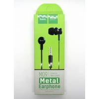 Hands Free hoco premium M09 metal earphone (black)