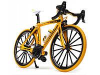 Спортивний велосипед фінгербайк Crazy Magic Finger 1:10 Спортивний жовтий