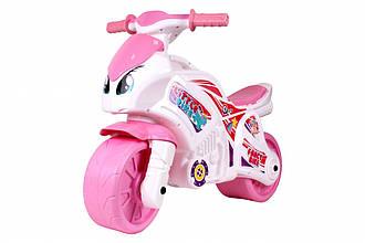 Мотоцикл ТехноК 6450, рожевий