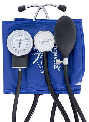Тонометр, медицинский измеритель давления LONGEVITA LS-4, фото 2