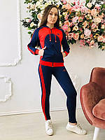 Женский спортивный повседневный костюм модный дайвинг 724  Zeta-m