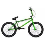"""Велосипед 20"""" Stolen CREATURE 2020 TOXIC GREEN SPLATTE, зелёный"""