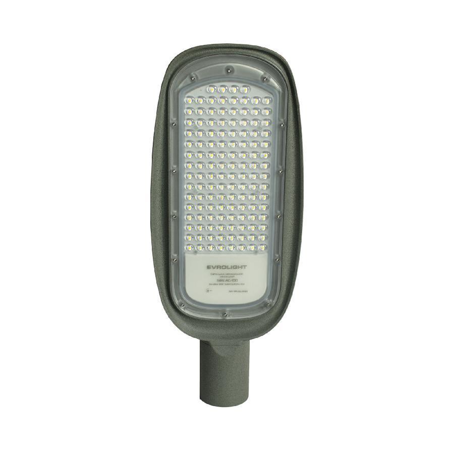 Светильник светодиодный консольный EVROLIGHT 100Вт 5000К MALAG-100 12000Лм IP65