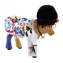 "Коллекционная статуэтка корова ""Wooodstock"""
