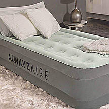 Надувне ліжко Bestway 67622 AlwayzAire, 191-97-46 см, насос 220 V, фото 2
