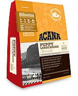 Acana Puppy large breed щенки крупных пород 17 кг.