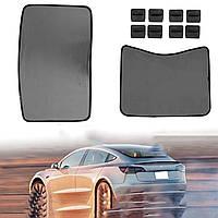 Сетка на крыше Авто Окно солнцезащитный козырек для экрана для Tesla Model 3 Skylight Шторы для штор-1TopShop