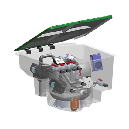 Emaux Комплексная фильтрационная установка Emaux EMD-18CP (18м3/ч)