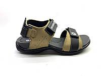 Мужские сандалии E-1 Бежевые