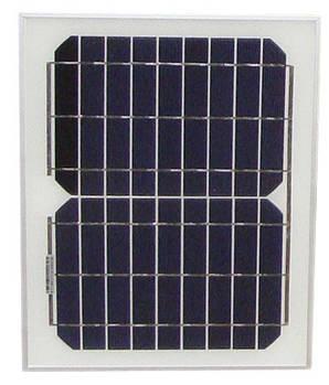Монокристалическая солнечная панель 12В 10Вт