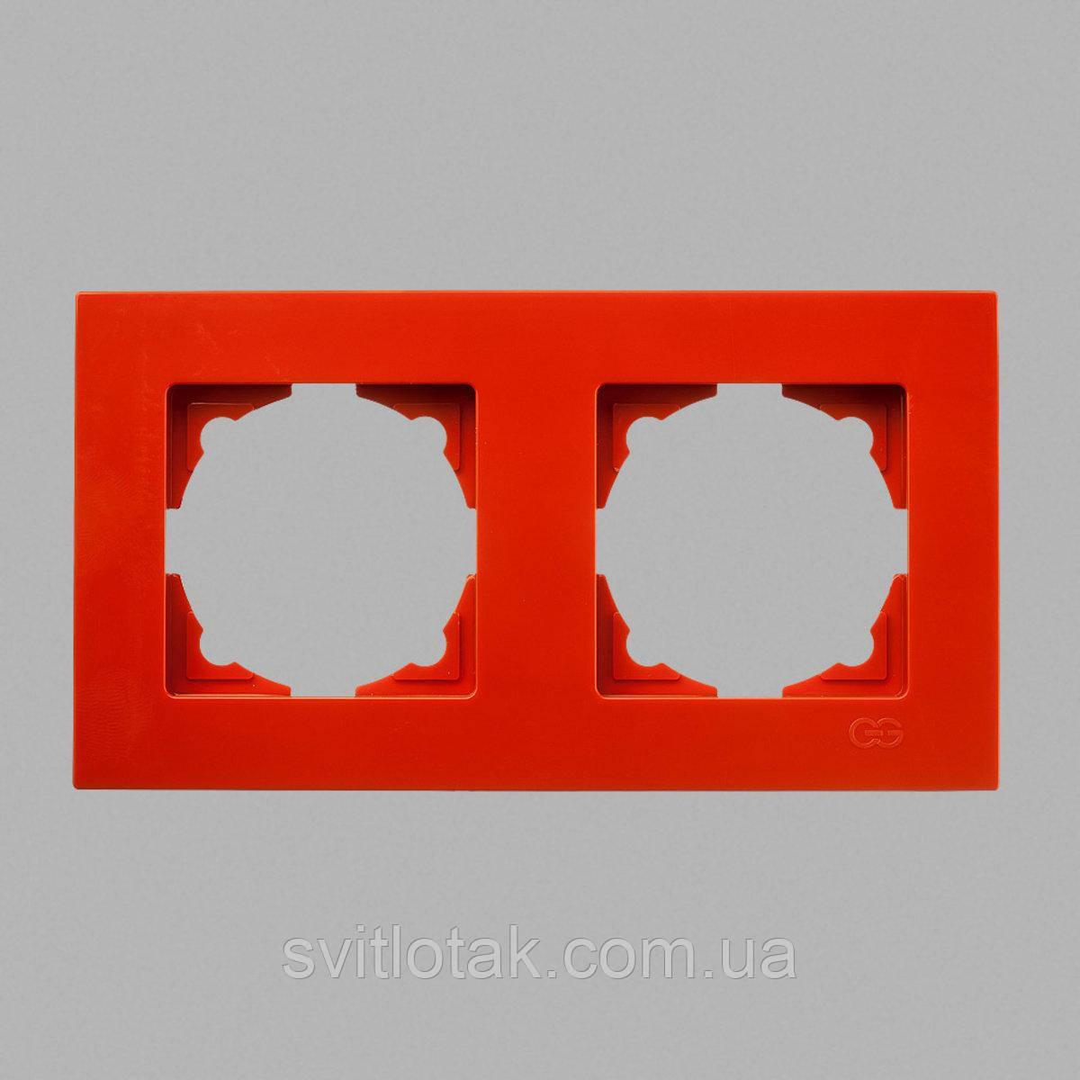 Eqona рамка 2-ая оранжевая