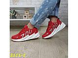 Кроссовки на массивной подошве шарк SHARK красные 36, 38 р. (2111-1), фото 2