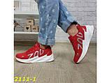 Кроссовки на массивной подошве шарк SHARK красные 36, 38 р. (2111-1), фото 7