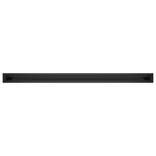 Вентиляційна решітка для каміна SAVEN Loft 60х1000 чорна