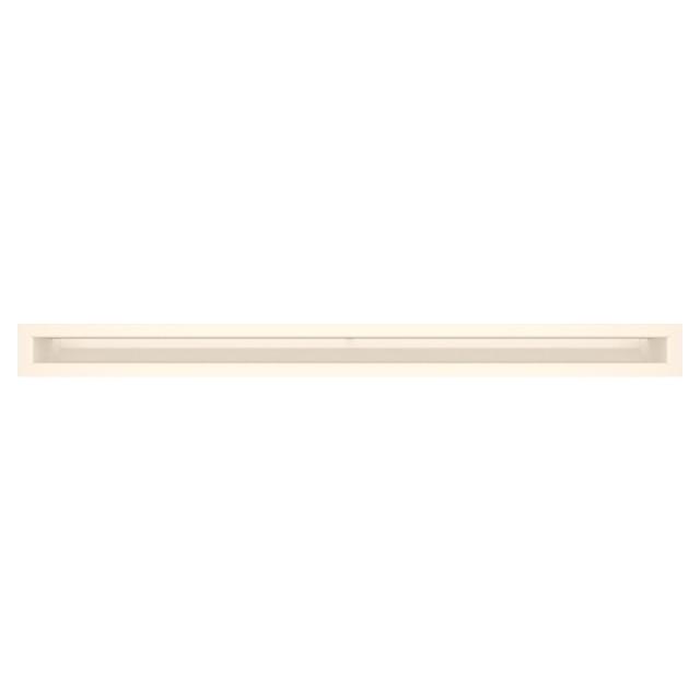 Вентиляційна решітка для каміна SAVEN Loft 60х800 кремова