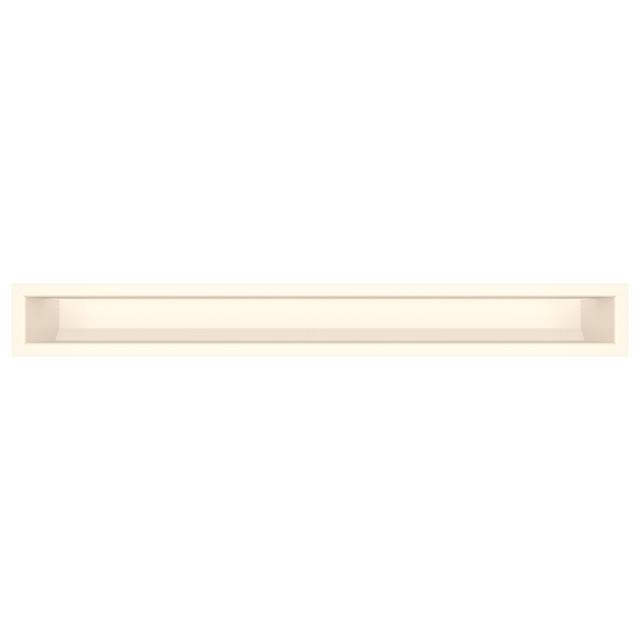 Вентиляційна решітка для каміна SAVEN Loft 90х800 кремова