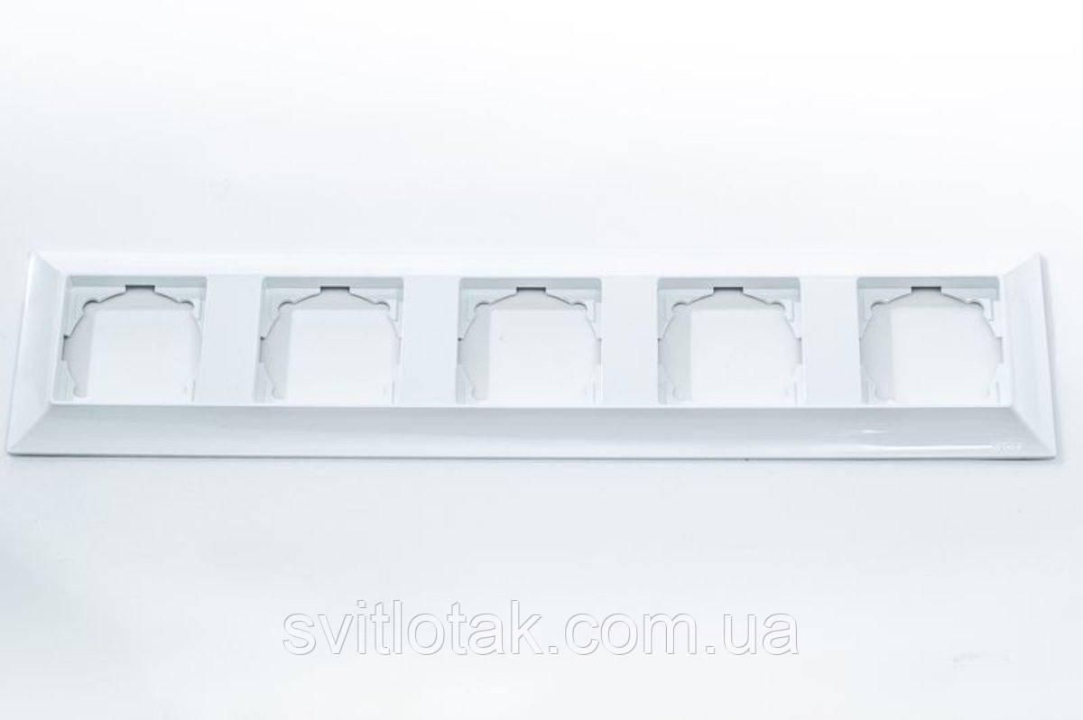 Neoline рамка 5-ая, белая