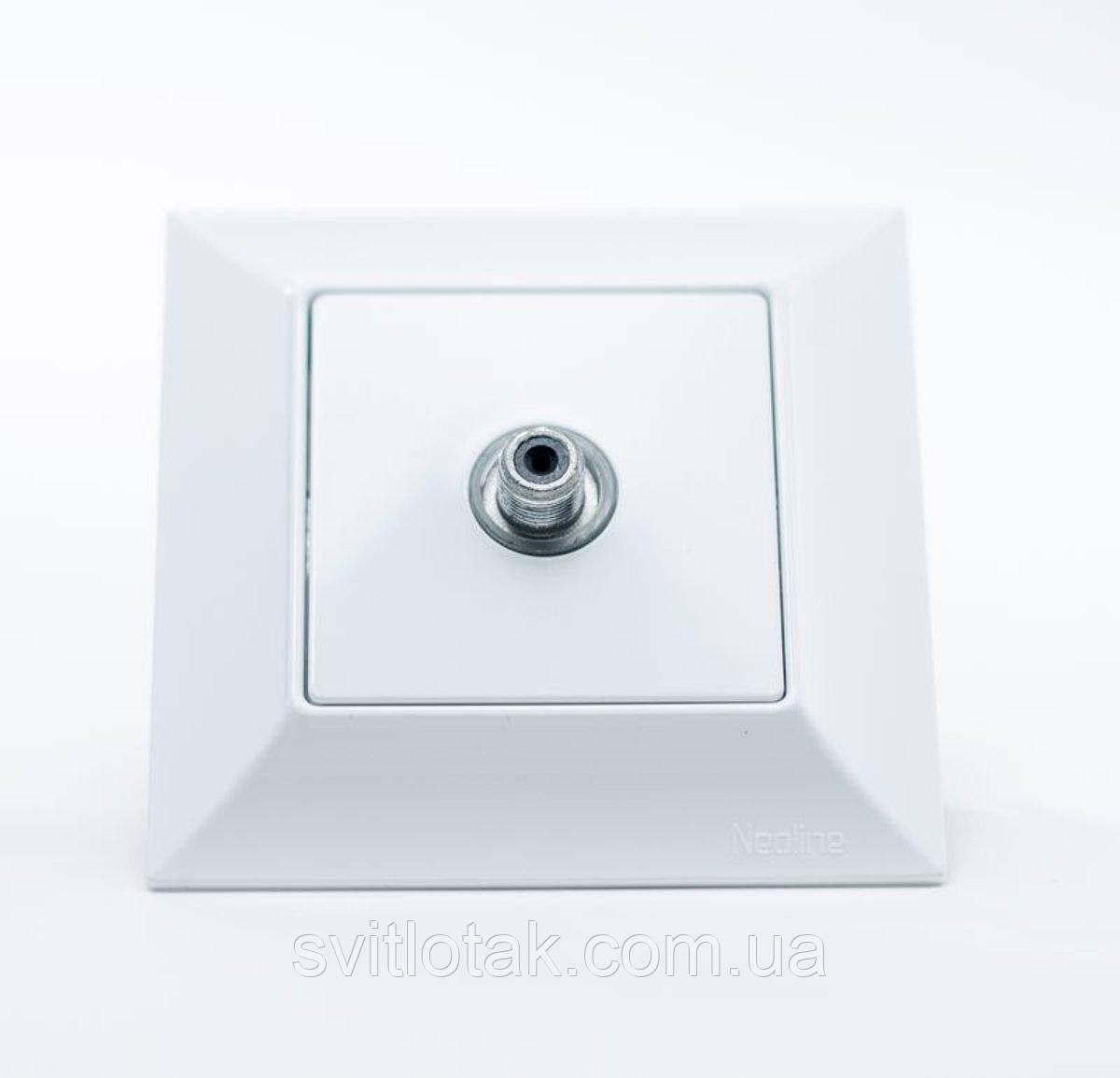Neoline розетка SAT біла