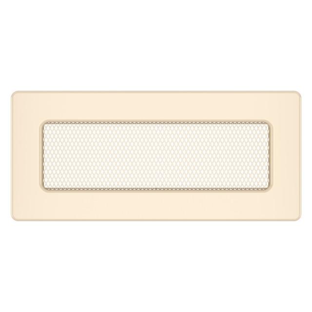 Вентиляційна решітка для каміна SAVEN 11х24 кремова