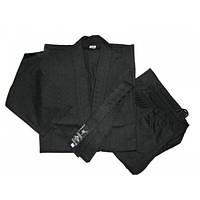 Кимоно каратэ черное MATSA