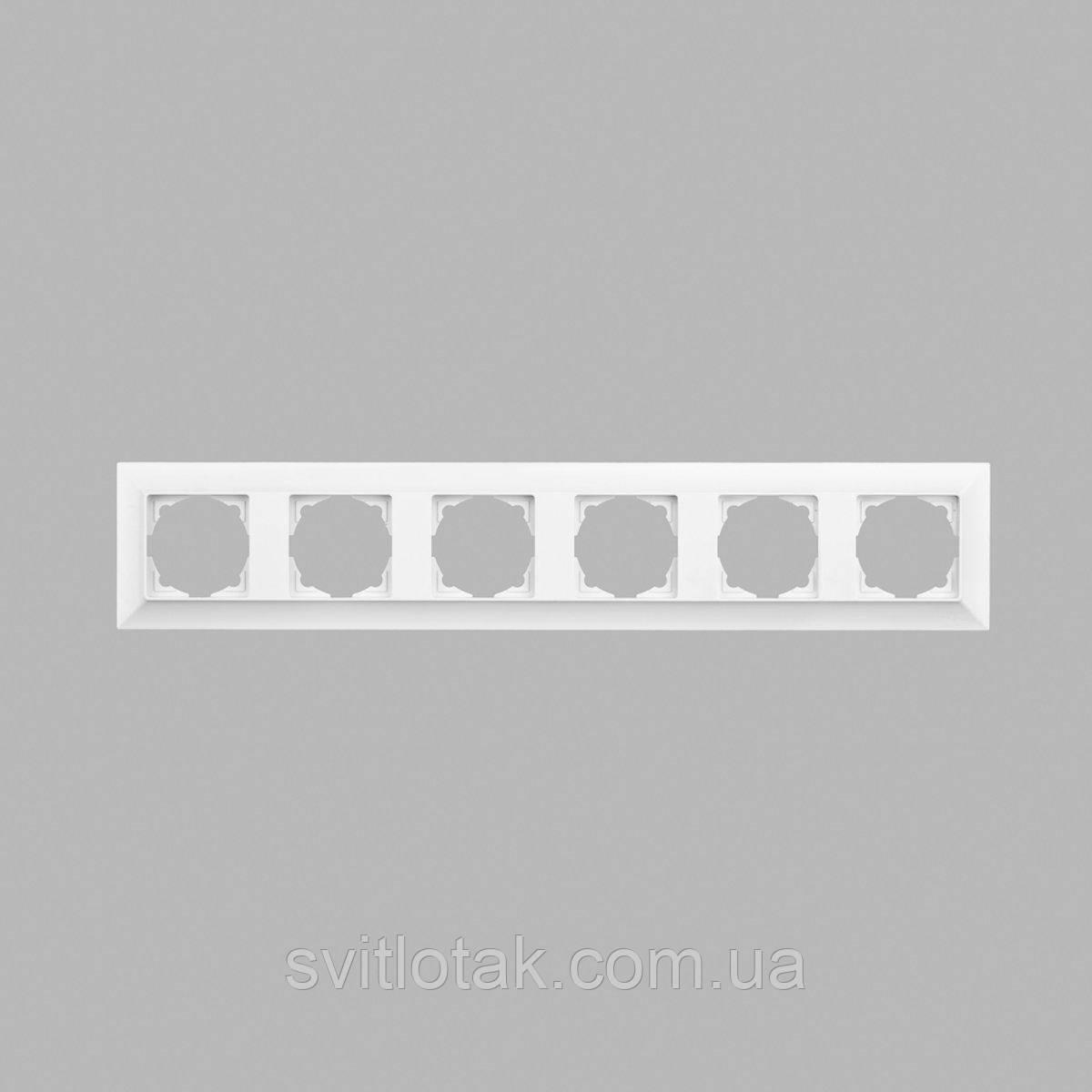 Neoline рамка 6-а, біла