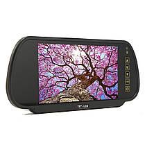 7 дюймов TFT LCD Авто Зеркало заднего вида Монитор для парковки заднего хода камера Комплект и видеомагнитофон DVD-1TopShop, фото 2
