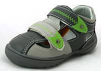 Детские туфли-босоножки для мальчика Clibee Румыния размеры 20-25