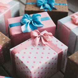 Подарочные коробки оптом Boxshop, картонные, 50*50*35, для бижутерии, 24 штуки, разные цвета