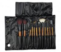 Профессиональные кисти набор кисточек 10 штук для макияжа DELFA