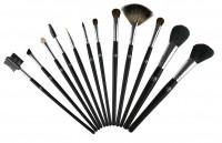 Профессиональные кисти для визажа набор кисточек 12 штук для макияжа w7